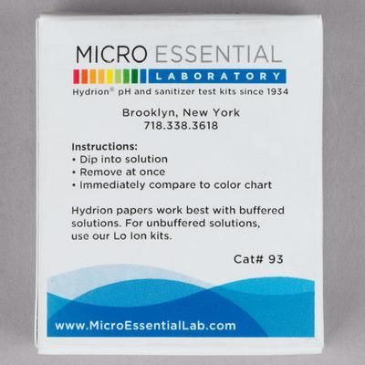 Hydrion 93 S/R Insta-Check pH Test Paper Dispenser - Leve...