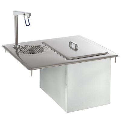 Delfield 204 Drop-In Water Station / Glass Filler With Ic...