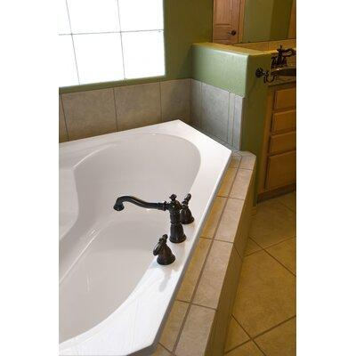 "Hydro Systems Designer Rincon 59"" x 59"" Whirlpool Bathtub RIN5959AWP- Finish: White"