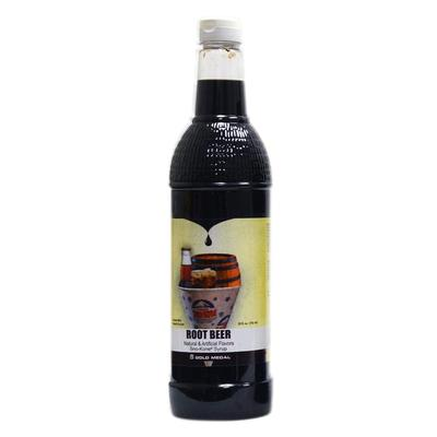 Gold Medal 1431 25 oz Root Beer Snow Cone Syrup, Ready-To...