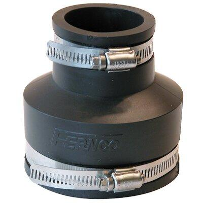 """Fernco Stock Coupling 1056 Size: 3"""" x 1.5"""""""