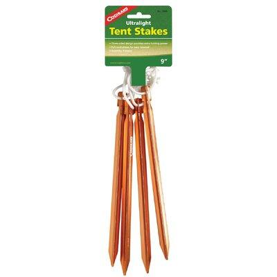 """Coghlans 9"""" Ultralight Tent Stakes 1000"""