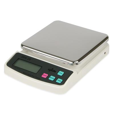 DPS-20 Digital Portion Scale - 20-lb x 0.01-oz, Stainless