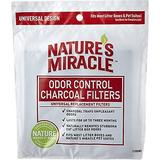 Natures Miracle Just For Cats Odor Control Universal Charcoal Filter, 2-pack | White Wine Red