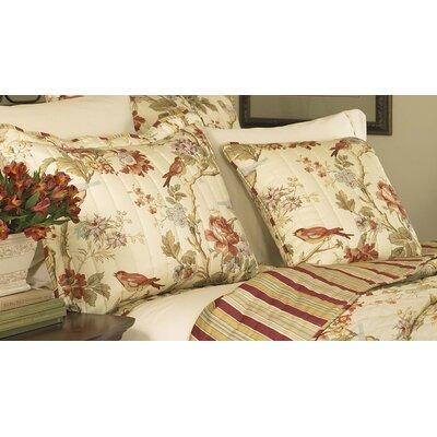 Waverly Charleston Chirp Quilted Cotton Throw Pillow 1139...