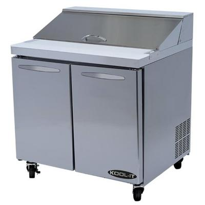 Kool-It KST-36-2 36 Sandwich/Salad Prep Table w/ Refriger...