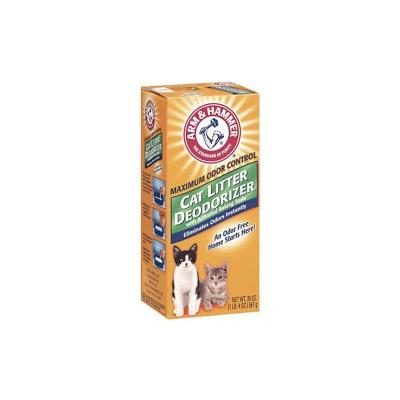 Arm & Hammer Litter Cat Litter Deodorizer Powder, 20-oz box