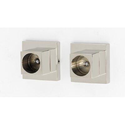 ALNO A8446 Shower Curtain Rod Flange Set From The Contemporary II