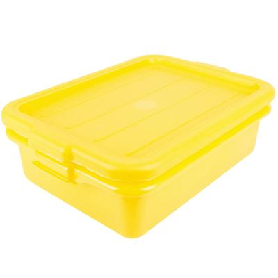 "Vollrath 1501-C08 Traex Color-Mate Yellow 20"" x 15"" x 5"" ..."
