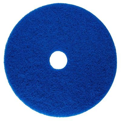 """Scrubble by ACS 53-19 Type 53 19"""" Blue Cleaning Floor Pad..."""