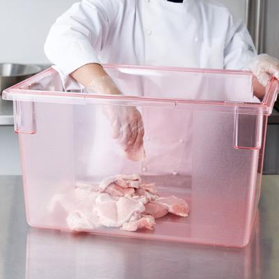 "Carlisle 10624C05 StorPlus Red Food Storage Box - 26"" x 1..."