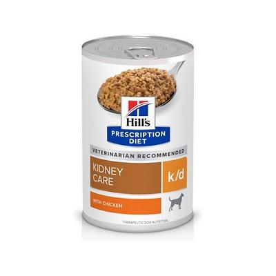 Hill's Pet Nutrition k/d Kidney Care with Chicken Canned ...
