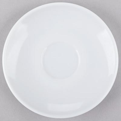 "Arcoroc 22670 Opal Restaurant White 4 3/8"" Saucer by Arc ..."