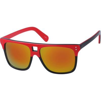 Zenni Sunglasses Red Frame A10120118