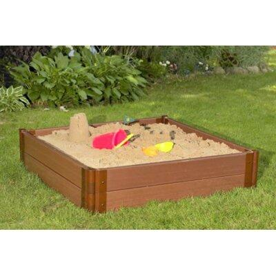 Frame It All Series Square Sandbox SBX-SQU2-WGT Depth: 12""
