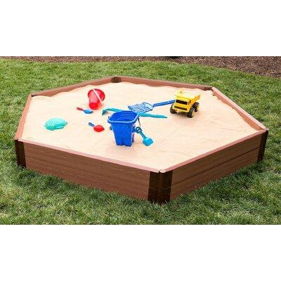 Frame It All 7 ft. Two Inch Series Hexagonal Sandbox SBX-...