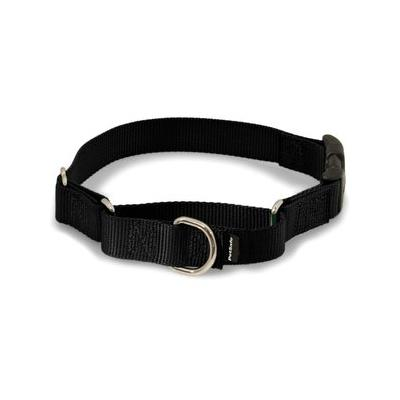 PetSafe Premier Quick Snap Martingale Dog Collar, Black, Medium, 1-in