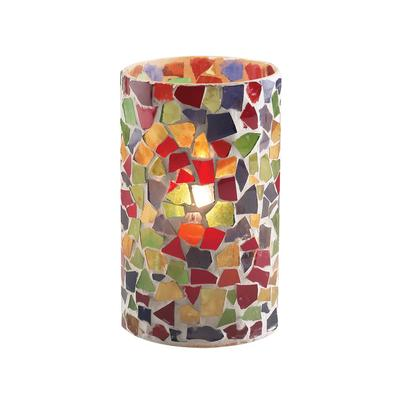"""Sterno Products 80204 5"""" Multicolor Mosaic Candle Liquid ..."""