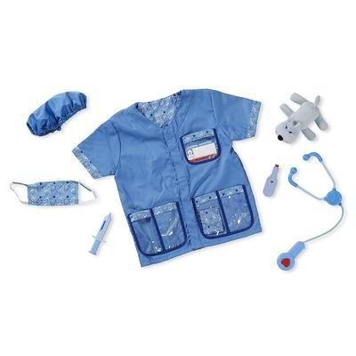 Melissa and Doug Veterinarian Costume - Kids, Kids Unisex, Multicolor