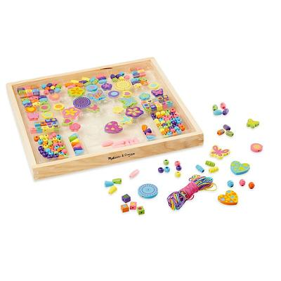 Melissa and Doug Bead Bouquet Wooden Bead Set, Multicolor