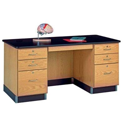 Diversified Woodcrafts Teacher's Work Executive Desk 1131K