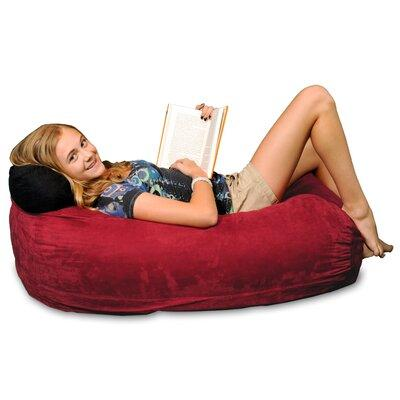 Theater Sacks Bean Bag Sofa TS-KLG-MS Upholstery: Cinnabar