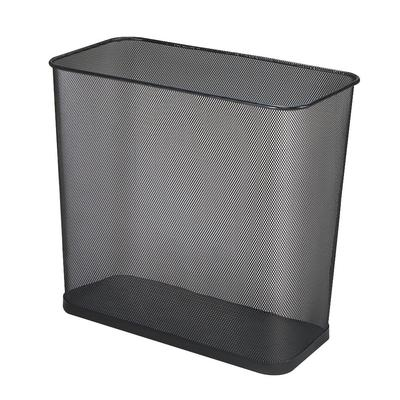 Rubbermaid FGWMB30RBK Concept Collection Black Rectangula...
