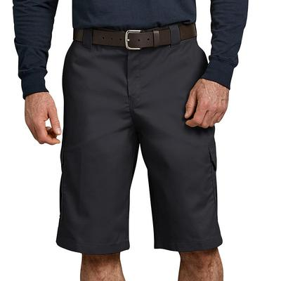 Men's Dickies Flex Relaxed-Fit Cargo Shorts, Size: 30, Black