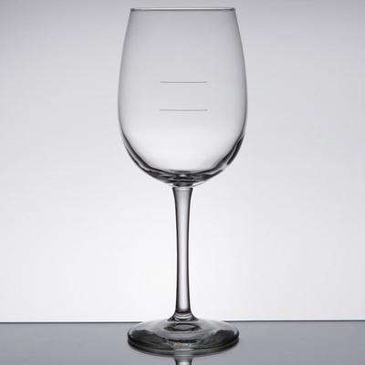 Libbey 7533-1178N Vina 16 oz. Wine Glass with Etched Pour...