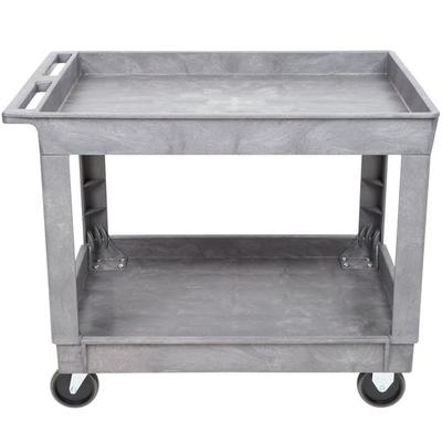 Lakeside 2523 Plastic Deep Well Two Shelf Utility Cart - ...
