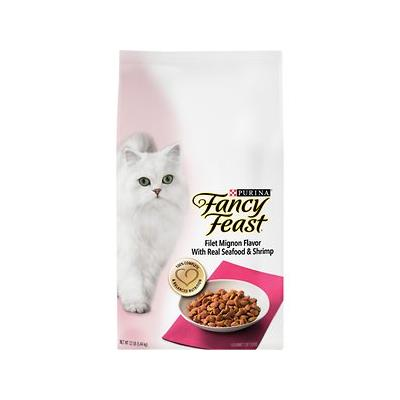 Fancy Feast Gourmet Filet Mignon Flavor with Real Seafood...