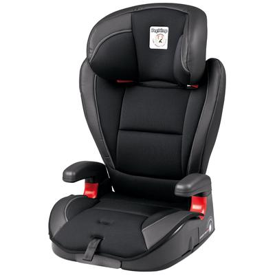 Peg-Perego HBB 120 High Back Booster Car Seat in Licorice