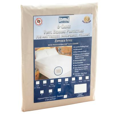 Bargoose Zippered Vinyl Bed Bug Proof King Mattress Encas...