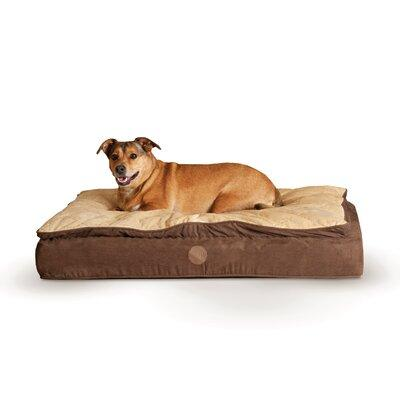 K&H Manufacturing Feather Top Ortho Dog Bed KHM1329 Color...