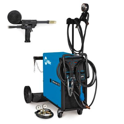 Miller matic 252 MIG Welder With 30A Spool Gun