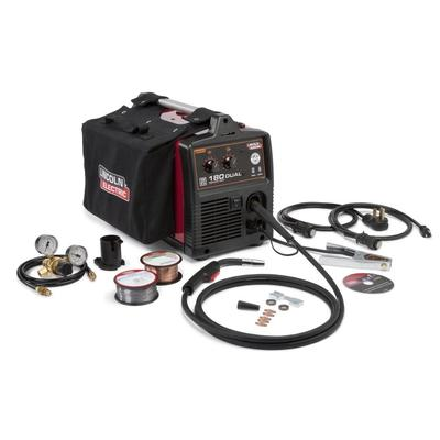 Lincoln Power MIG 180 Dual MIG Welder Package