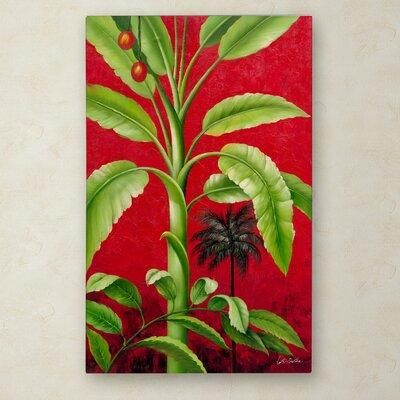 Trademark Art 'Tropical Palm II' by Victor Giton Painting...
