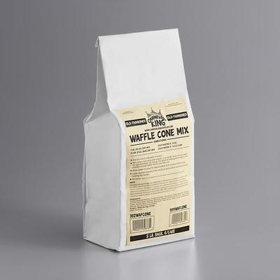Carnival King Old Fashioned Waffle Cone Mix 5 lb. Bag - 6...