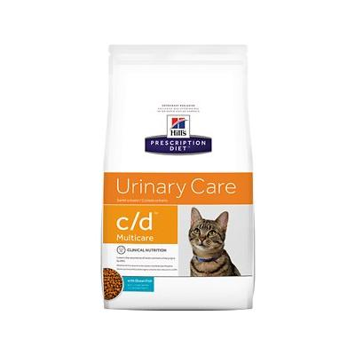 Hill's Pet Nutrition c/d Multicare with Ocean Fish Urinary Tract Health Dry Cat Food, 4-lb bag