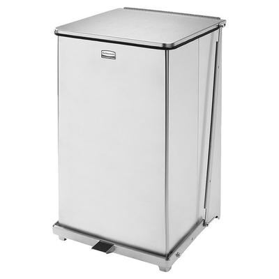Rubbermaid FGST40SSPL The Defenders Stainless Steel Squar...
