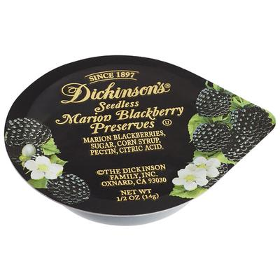 Dickinson's 5 oz. Seedless Marion Blackberry Preserves Po...