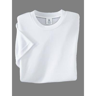 Men's InstaDry Crew Neck Shirts (2pk) by Haband, White Si...