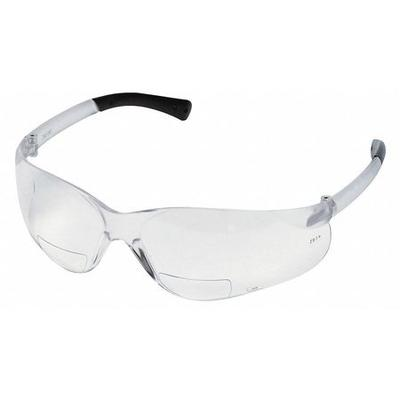 Scratch-Resistant Bifocal Safety Reading Glasses, +2.0 MC...