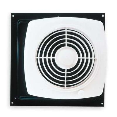 Broan Bath Exhaust Fan Wall Mount Removes Humidity Direct Discharge 180 Cfm White