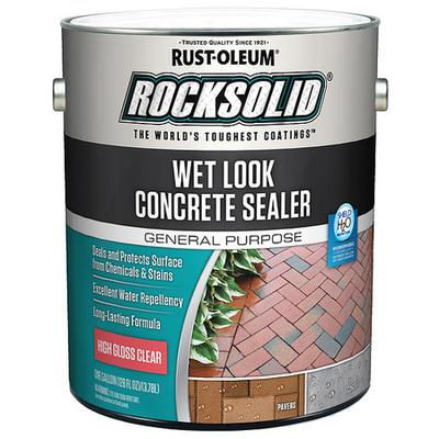 Rust Oleum 239416 Sealer, 1 gal, Clear, Epoxy, Gloss