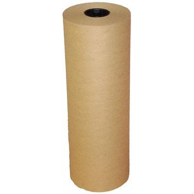 VALUE BRAND 5PGP2 Kraft Paper, 60 lb., Natural, 24 In. W