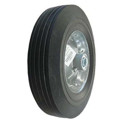 VALUE BRAND 1NWZ7 Solid Rubber Whl, 10 In, 450 lb