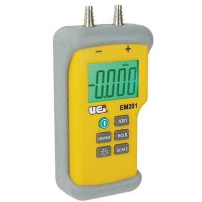 UEI TEST INSTRUMENTS EM201 Digital Manometer, -60 to +60 ...