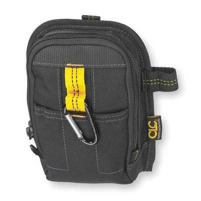 Clc Carry-All Pouch w/ Belt Loop and Belt Clip, Black, 1504