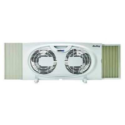 "Air King 7"" Window/Table Fan, 2 Speed, 9137"